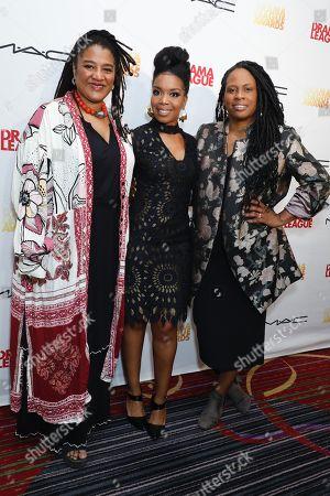 Lynn Nottage, Jessica Frances Dukes and Kamilah Forbes
