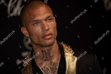 Jeremy Meeks poses for photographers upon arrival at the Chopard Love event at the 72nd international film festival, Cannes, southern France