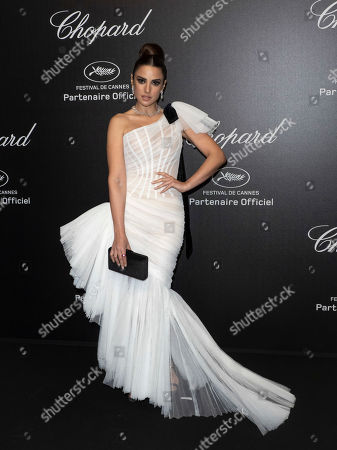 Stock Picture of Dorra Zarrouk attends the Chopard Love Party during the 72nd annual Cannes Film Festival in Le Cannet, France, 17 May 2019. The film festival runs from 14 to 25 May 2019.