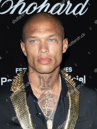 Jeremy Meeks attends the Chopard Love Party during the 72nd annual Cannes Film Festival in Le Cannet, France, 17 May 2019. The film festival runs from 14 to 25 May 2019.