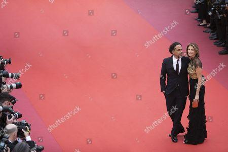 Stock Picture of Alejandro Gonzalez Inarritu, Maria Eladia Hagerman