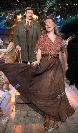 Stock Image of James Marlowe as Benjamin Button, Philippa Hogg as Elowen