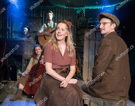 Editorial image of 'The Curious Case of Benjamin Button' Play performed at the Southwark Playhouse, London, UK, 17 May 2019