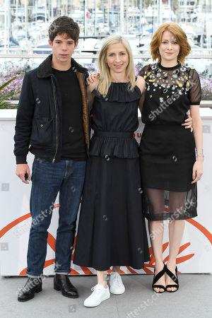 Phenix Brossard, Jessica Hausner and Emily Beecham