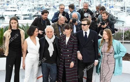 Baptiste Pinteaux, Laura Poulvet, Marc Susini, Montse Triola, director Albert Serra and Iliana Zabeth