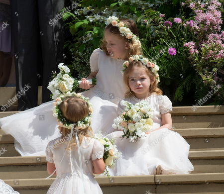 Editorial picture of The Wedding of Lady Gabriella Windsor and Thomas Kingston, St George's Chapel, Windsor Castle, UK - 18 May 2019