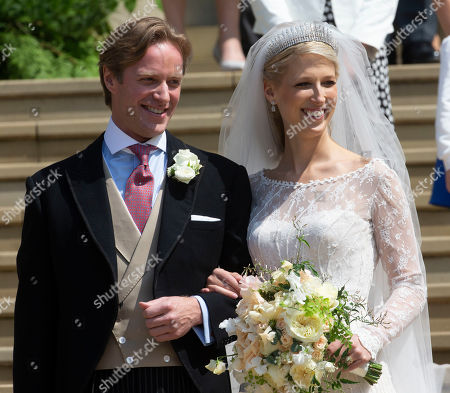 Thomas Kingston and Lady Gabriella Windsor.