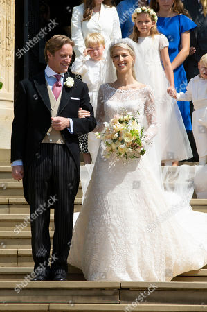 Thomas Kingston and Lady Gabriella Windsor