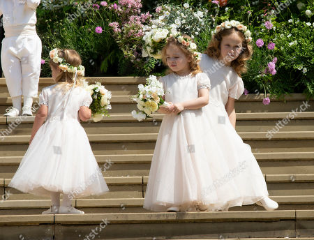 Editorial photo of The Wedding of Lady Gabriella Windsor and Thomas Kingston, St George's Chapel, Windsor Castle, UK - 18 May 2019