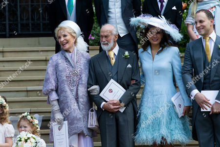 Princess Michael of Kent, Prince Michael of Kent, Sophie Winkleman and Lady Windsor.