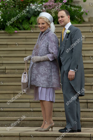 Princess Michael of Kent and Lord Frederick Windsor.