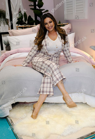 Kelly Brook on the Dunelm Stand