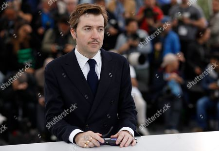Director Albert Serra poses for photographers at the photo call for the film 'Liberte' at the 72nd international film festival, Cannes, southern France