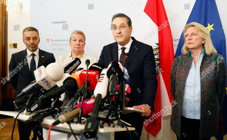 Editorial image of Austrian Vice-Chancellor Strache steps down, Vienna, Austria - 18 May 2019