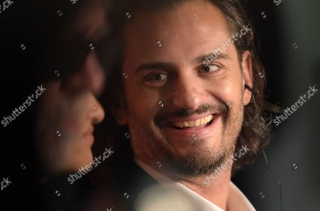 Asier Etxeandia attends the press conference for 'Dolor y Gloria' (Pain and Glory) during the 72nd annual Cannes Film Festival, in Cannes, France, 18 May 2019. The movie is presented in the Official Competition of the festival which runs from 14 to 25 May.