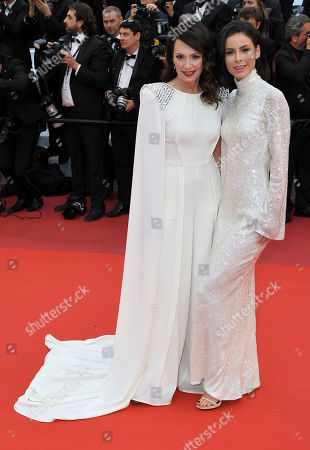 Iris Berben and Lena Meyer-Landrut