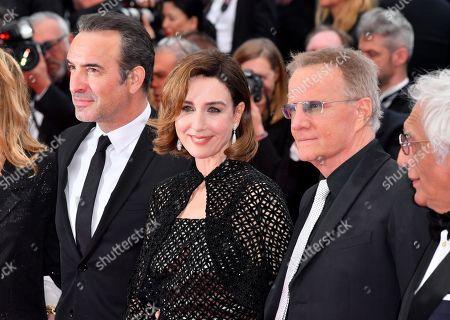 Jean Dujardin, Elsa Zylberstein and Christopher Lambert