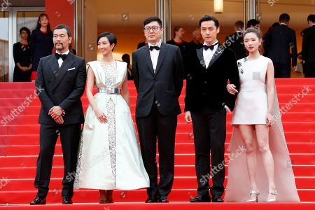 Editorial image of 'The Wild Goose Lake' premiere, 72nd Cannes Film Festival, France - 18 May 2019