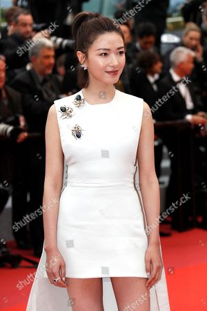 Regina Wan leaves the screening of â??Nan Fang Che Zhan De Ju Hui' (The Wild Goose Lake) during the 72nd annual Cannes Film Festival, in Cannes, France, 18 May 2019. The movie is presented in the Official Competition of the festival which runs from 14 to 25 May.