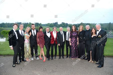 Susan Young, Richard Young, Hannah Young, Lisa Snowdon, George Smart, Ronni Ancona, Gerard Hall, Assia Webster, Stephen Webster, Rob Van Helden, Sebastien Barbereau, Sarah Murray Philips, Nick Philips, Jonathan Berlin.