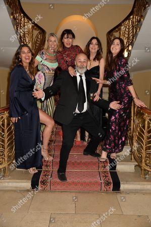 Hannah Young, Assia Webster, Ronni Ancona, Susan Young, Lisa Snowdon, Richard Young