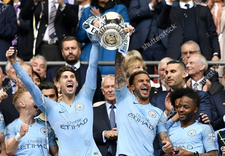 Editorial photo of FA Cup final Manchester City vs Watford, London, United Kingdom - 18 May 2019