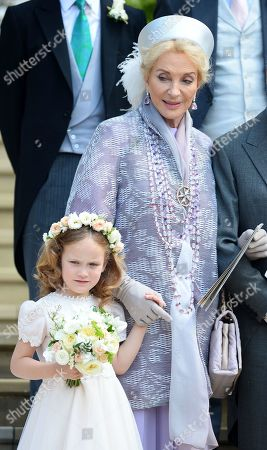 Princess Michael of Kent and granddaughter Maud Windsor