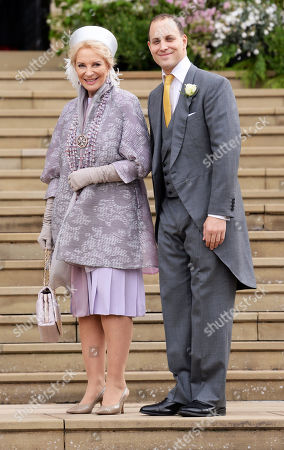 Princess Michael of Kent and son Lord Frederick Windsor