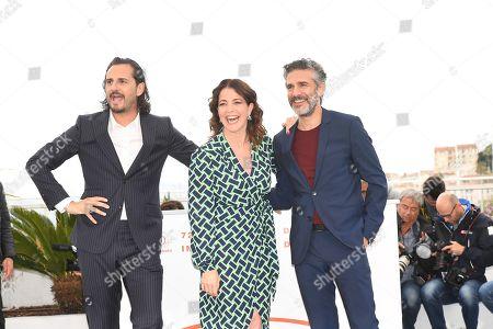 Leonardo Sbaraglia, Nora Navas and Asier Etxeandia