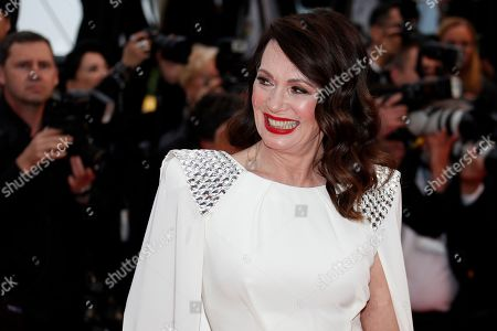 Iris Berben arrives for the screening of 'Les Plus Belles Annees d'une Vie' (The Best Years of a Life) during the 72nd annual Cannes Film Festival, in Cannes, France, 18 May 2019. The movie is presented in the Official Competition of the festival which runs from 14 to 25 May.