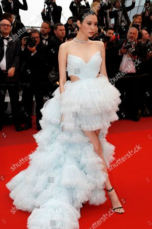 Ming Xi arrives for the screening of 'Les Plus Belles Annees d'une Vie' (The Best Years of a Life) during the 72nd annual Cannes Film Festival, in Cannes, France, 18 May 2019. The movie is presented in the Official Competition of the festival which runs from 14 to 25 May.