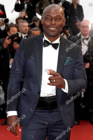 Jimmy Jean-Louis arrive for the screening of 'Les Plus Belles Annees d'une Vie' (The Best Years of a Life) during the 72nd annual Cannes Film Festival, in Cannes, France, 18 May 2019. The movie is presented in the Official Competition of the festival which runs from 14 to 25 May.