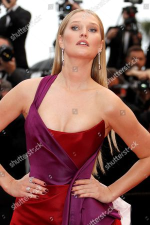 Toni Garn arrives for the screening of 'Les Plus Belles Annees d'une Vie' (The Best Years of a Life) during the 72nd annual Cannes Film Festival, in Cannes, France, 18 May 2019. The movie is presented in the Official Competition of the festival which runs from 14 to 25 May.