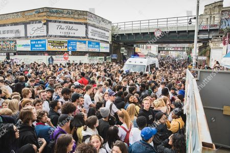 Tyler, the Creator fans descend on Peckham, London