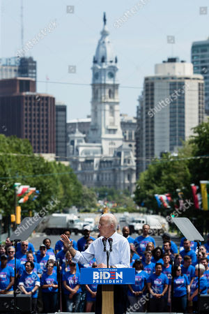 Joe Biden, US Presidential Election campaigning, Philadelphia