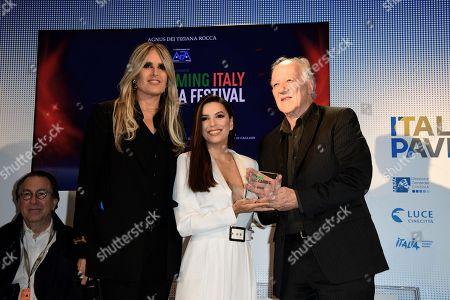 Tiziana Rocca, Eva Longoria and Werner Herzog
