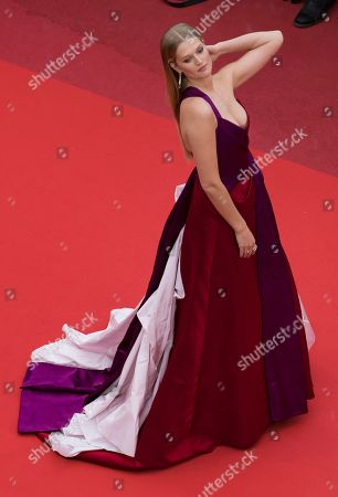 Stock Picture of Toni Garn arrives for the screening of 'Les Plus Belles Annees d'une Vie' (The Best Years of a Life) during the 72nd annual Cannes Film Festival, in Cannes, France, 18 May 2019. The movie is presented in the Official Competition of the festival which runs from 14 to 25 May.