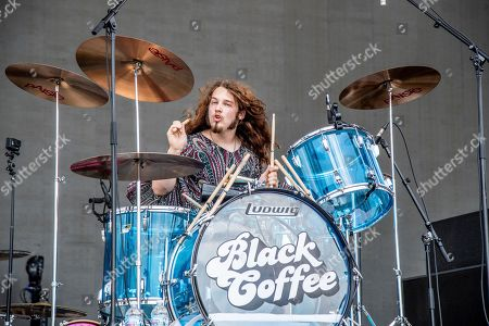 Tommy McCullough of Black Coffee performs at the Sonic Temple Art and Music Festival at Mapfre Stadium, in Columbus, Ohio