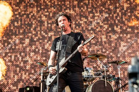 Joe Duplantier of Gojira performs at the Sonic Temple Art and Music Festival at Mapfre Stadium, in Columbus, Ohio