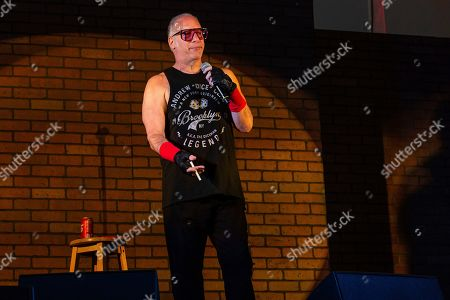 Andrew Dice Clay performs at the Sonic Temple Art and Music Festival at Mapfre Stadium, in Columbus, Ohio