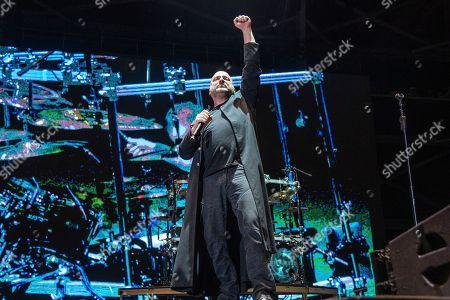 David Draiman of Disturbed performs at the Sonic Temple Art and Music Festival at Mapfre Stadium, in Columbus, Ohio