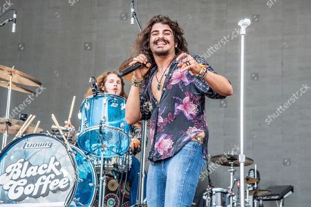 Ehab Omran of Black Coffee performs at the Sonic Temple Art and Music Festival at Mapfre Stadium, in Columbus, Ohio
