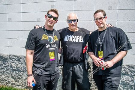 Andrew Dice Clay, No1Cares, Dylan Silverstein, Max Silverstein. Andrew Dice Clay, center, poses with his sons Dylan Silverstein, left, and Max Silverstein after their band, No1Cares, performed at the Sonic Temple Art and Music Festival at Mapfre Stadium, in Columbus, Ohio