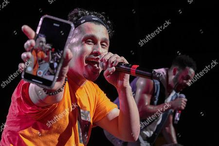 Stock Photo of O-Town - Erik-Michael Estrada