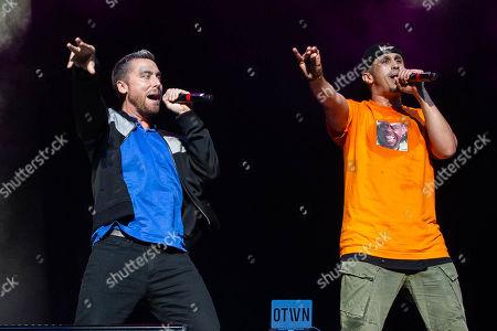 *NSYNC - Lance Bass performs with O-Town - Erik-Michael Estrada