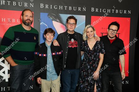 David Denman, Jackson A. Dunn, James Gunn, Elizabeth Banks, David Yarovesky