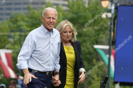 Editorial image of Election 2020, Joe Biden, Philadelphia, USA - 18 May 2019