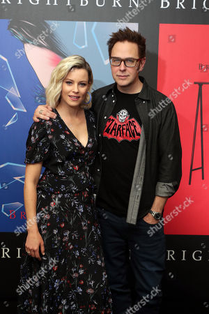 Elizabeth Banks and Producer James Gunn