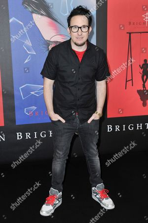 """David Yarovesky attends a photo call for """"Brightburn"""" at the Four Seasons Hotel, in Los Angeles"""