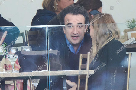 Stock Picture of Mary-Kate Olsen, Olivier Sarkozy